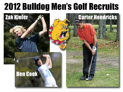 Bulldog Men's Golf Inks Three Prep Recruits