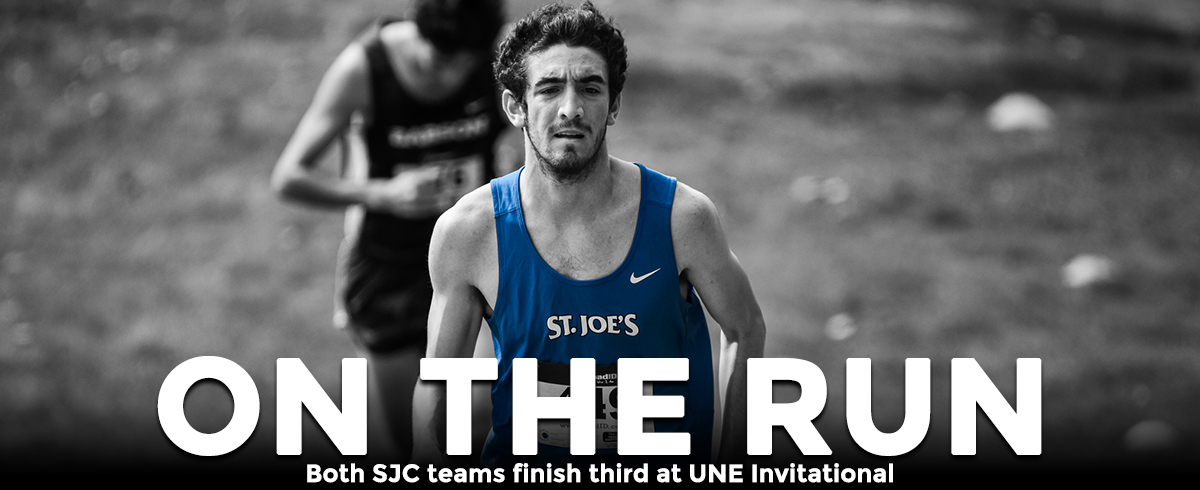 SJC Cross Country Teams Finish Third at UNE Invitational