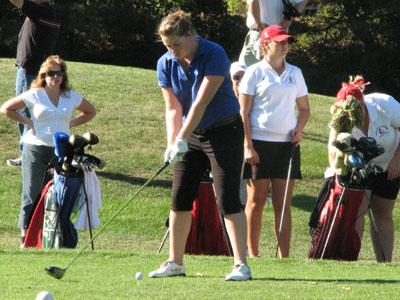 Women's Golf Tri-Match at Wethersfield Country Club Washed Out