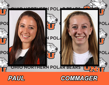 Paul and Commager's record days lead No. 12 Women's Track & Field at Keeler Invitational