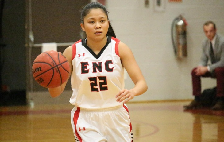 Women's Hoops Caps Off Regular Season with 48-39 Loss at Curry