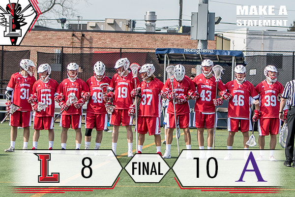 #16 Men's Lacrosse Comeback Falls Short to #9 Amherst, 10-8
