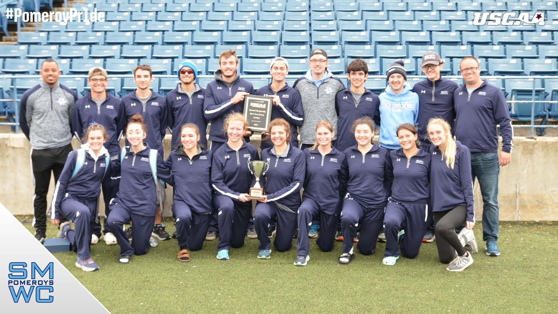 Men's and Women's XC Take High Honors at the USCAA National Championships