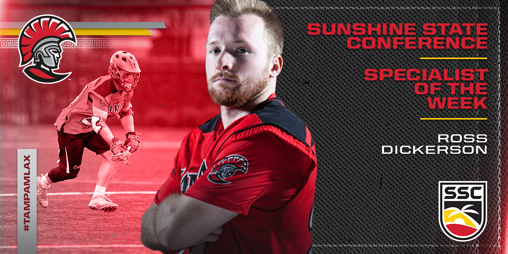 Ross Dickerson Snags SSC Specialist of the Week