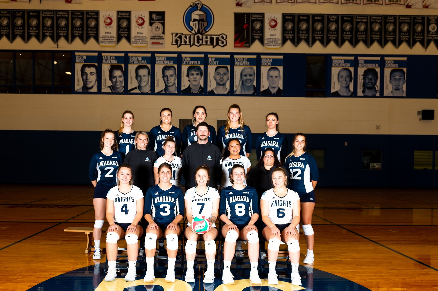 Women's Volleyball Handed First Loss of the Season to Humber