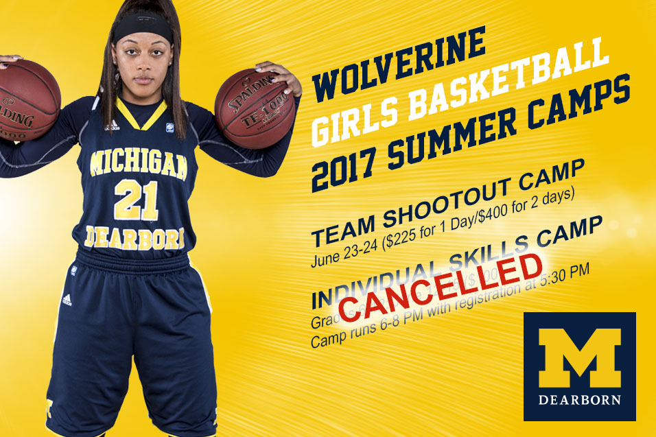 Photo for Summer Camp Schedule for Wolverine WBB