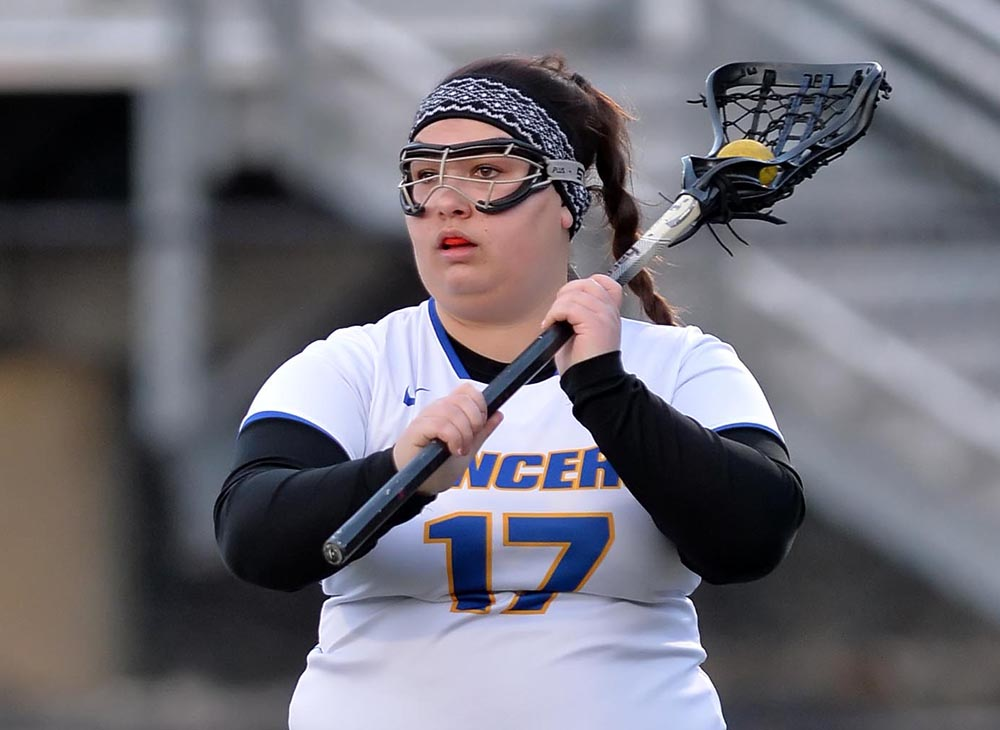 Martin Scores 100th Career Goal in Lancers' 13-10 Loss to St. Joseph's (L.I.)