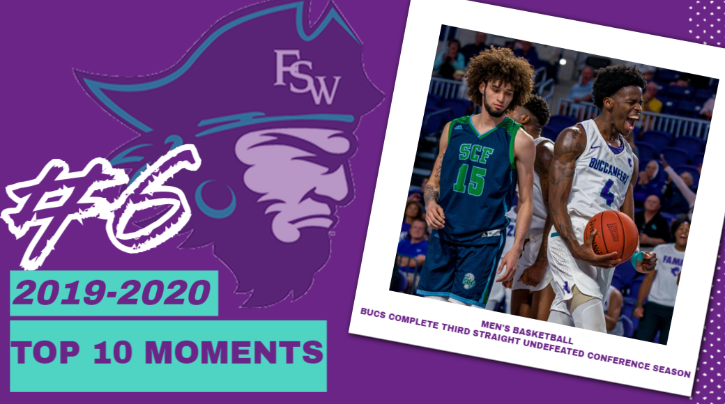 FSW Top 10 Moments of 2019-20; #6- Bucs Roll Through Third Straight Undefeated Conference Season