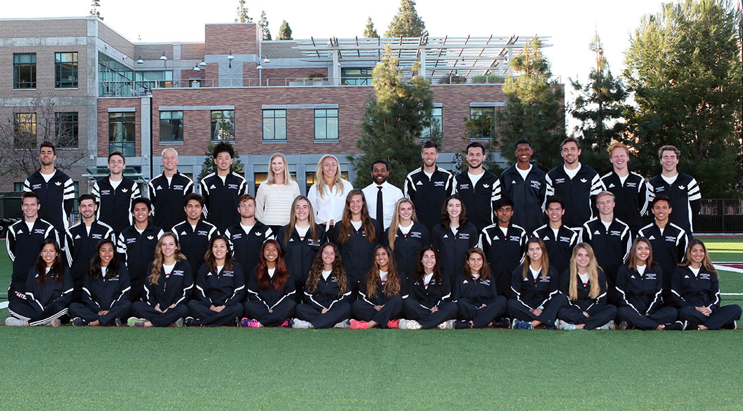 Combined men's and women's team picture