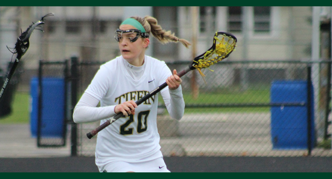 Elle Hamilton had 8 goals to lead Tiffin to a big win over Findlay.