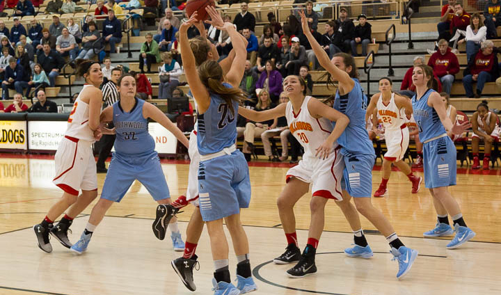 Big Northwood Surge Leads Timberwolves Past Bulldogs In GLIAC Women's Play