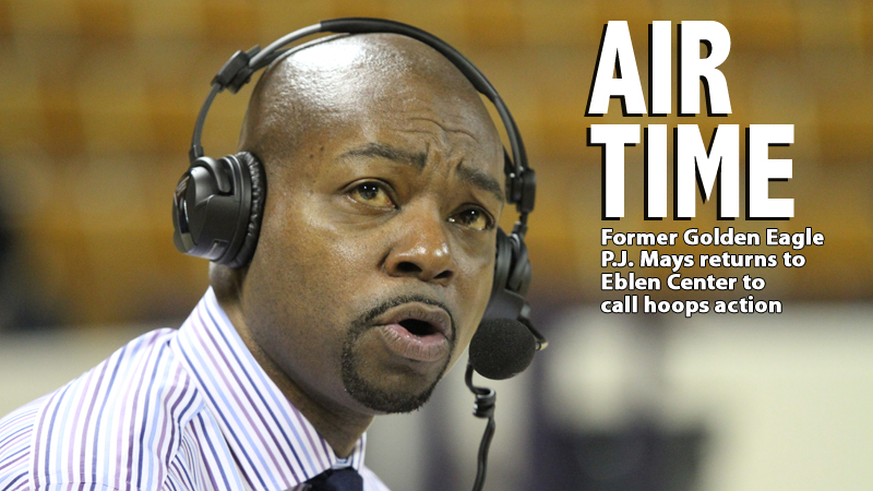 Former Golden Eagle P.J. Mays returns to call the action