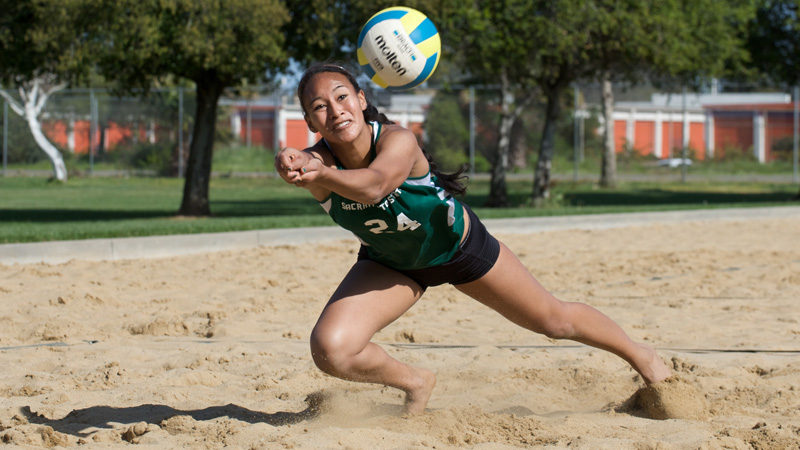 SAND VOLLEYBALL DROPS NAIL BITER TO SAN FRANCISCO