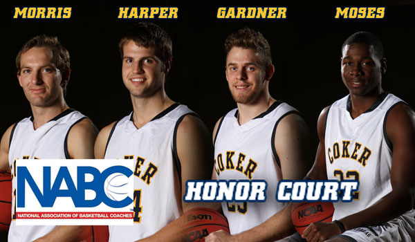 NABC Honors Four Men's Basketball Players