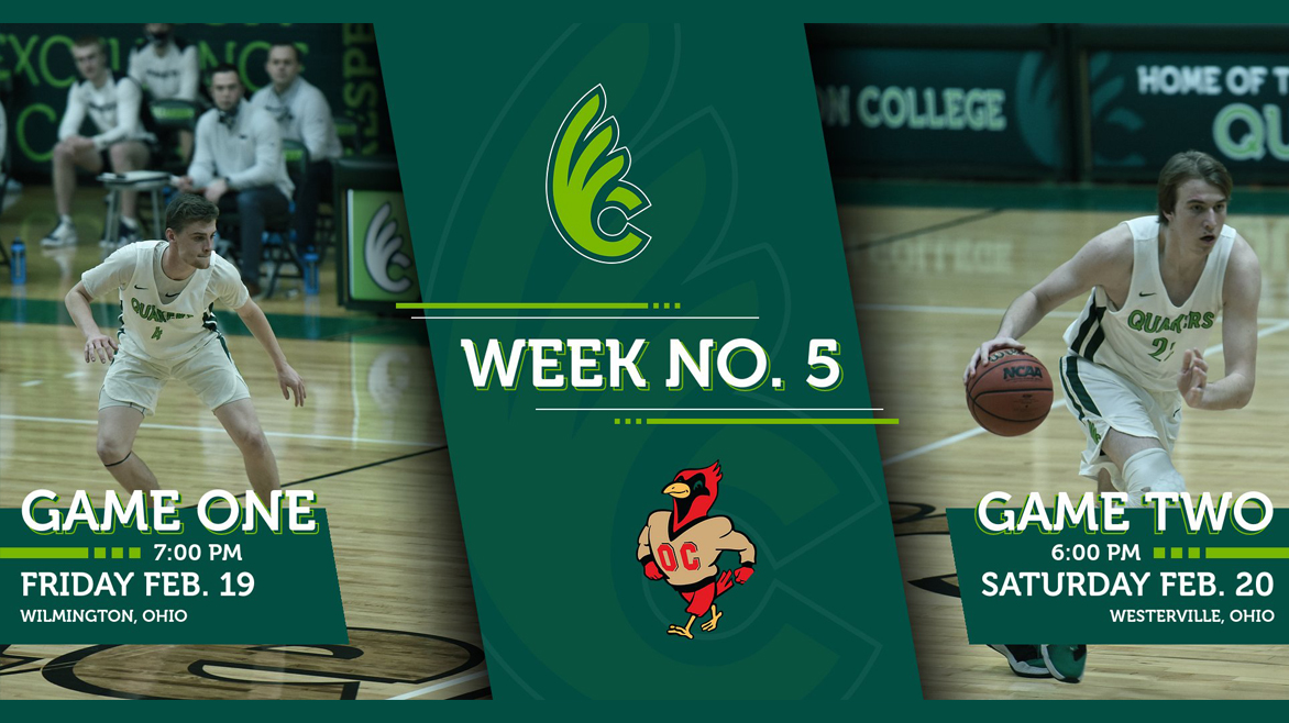 Men's Basketball Faces Otterbein in Week No. 5