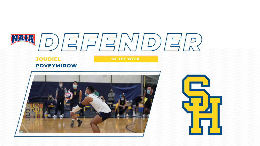 Poveymirow Adds NAIA Defender of the Week Award