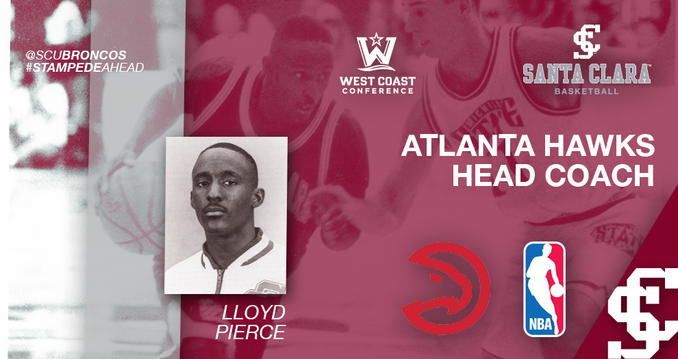 Men's Basketball Alum Lloyd Pierce Named Head Coach of Atlanta Hawks