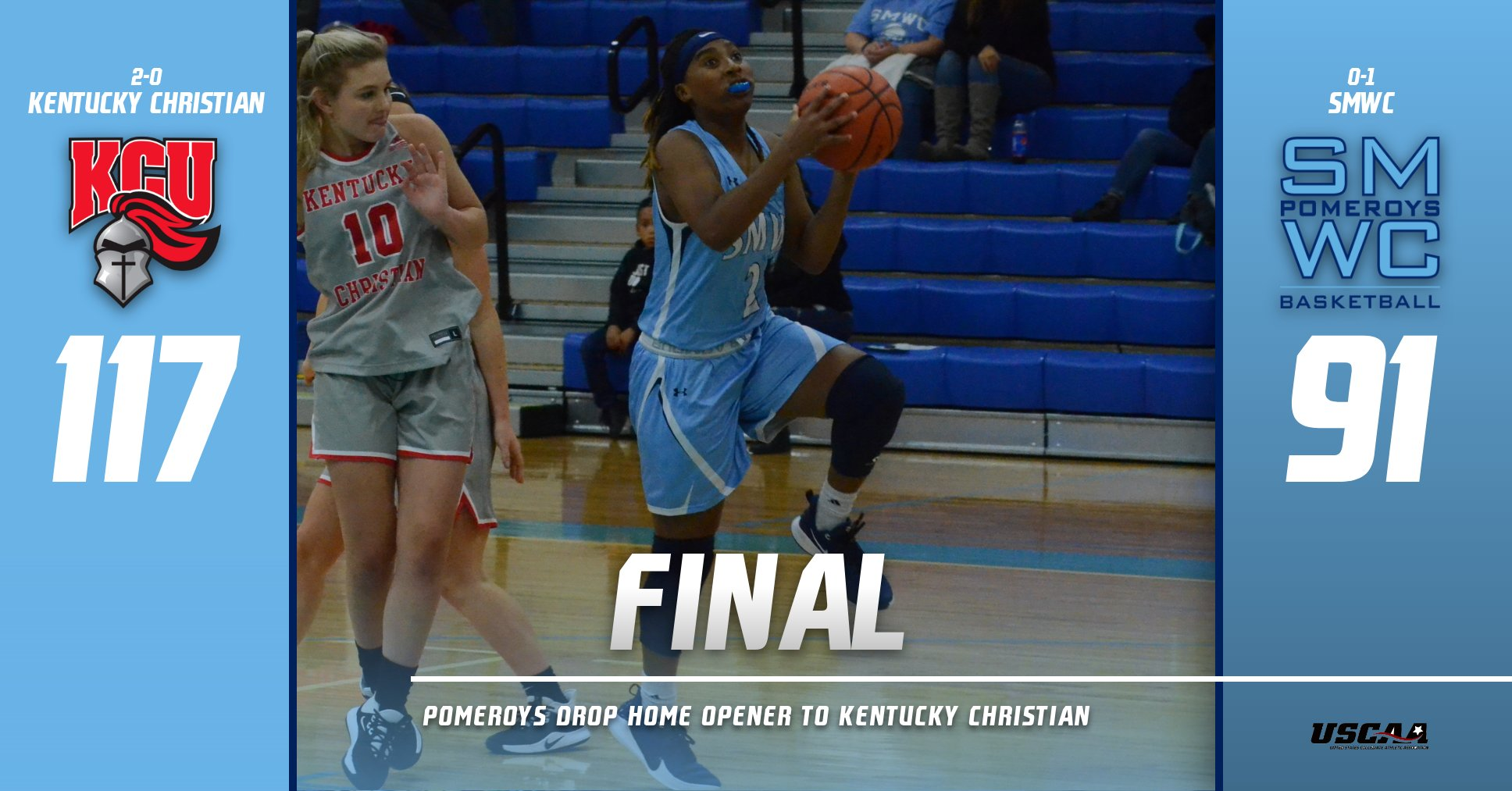 Pomeroys Drop Home Opener to Kentucky Christian