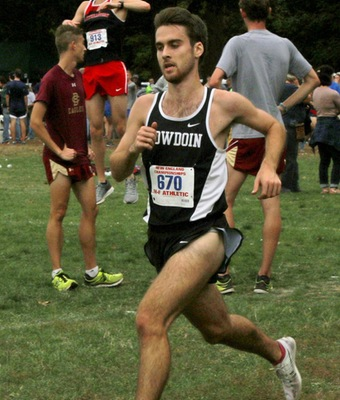 Sean MacDonald raced to a 26th-place finish on Saturday at Open New England's