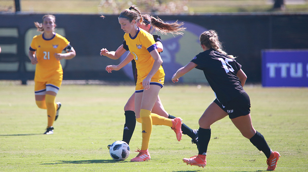Tech soccer registers 2-2 draw at SIUE in squad's first OVC road match of year