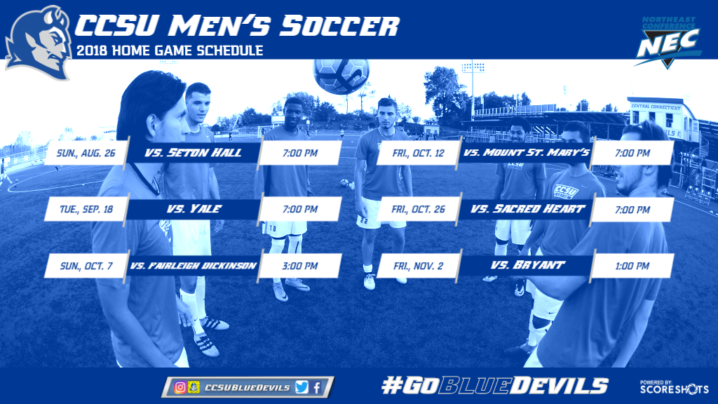 Men's Soccer Announces 2018 Schedule