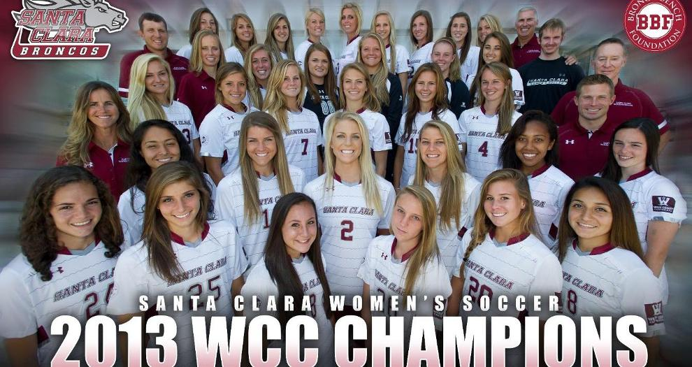 Updated with Photos!: Santa Clara Women's Soccer Claims Share of WCC Championship with 6-3 Win at Gonzaga