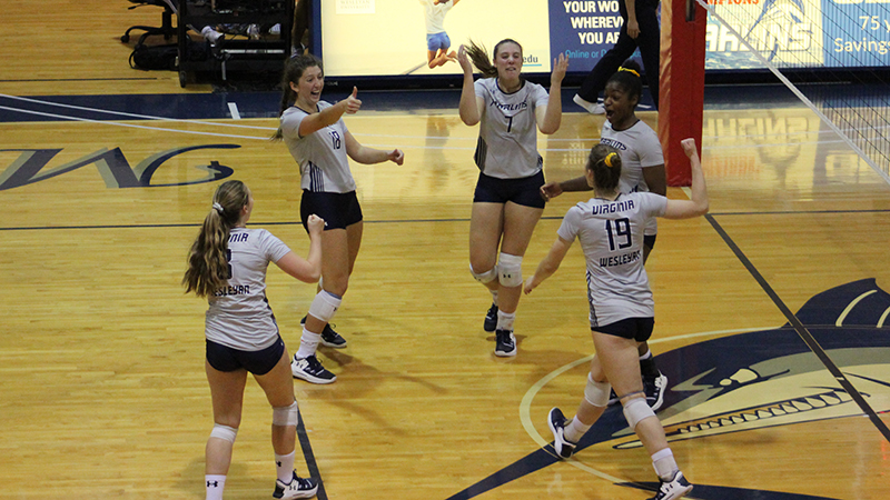 Volleyball Punches Championship Final Ticket with Sweep of Guilford