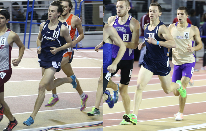 Emory Men's Track & Field Finish 7th at Crossplex Invitational