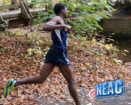 Bison men's team finishes 8th at NEAC championship, Alex Close earns 2nd team all-conference honors