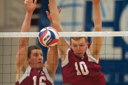 No. 14 Harvard Men's Volleyball Drops Second Straight Match at Princeton, 3-1