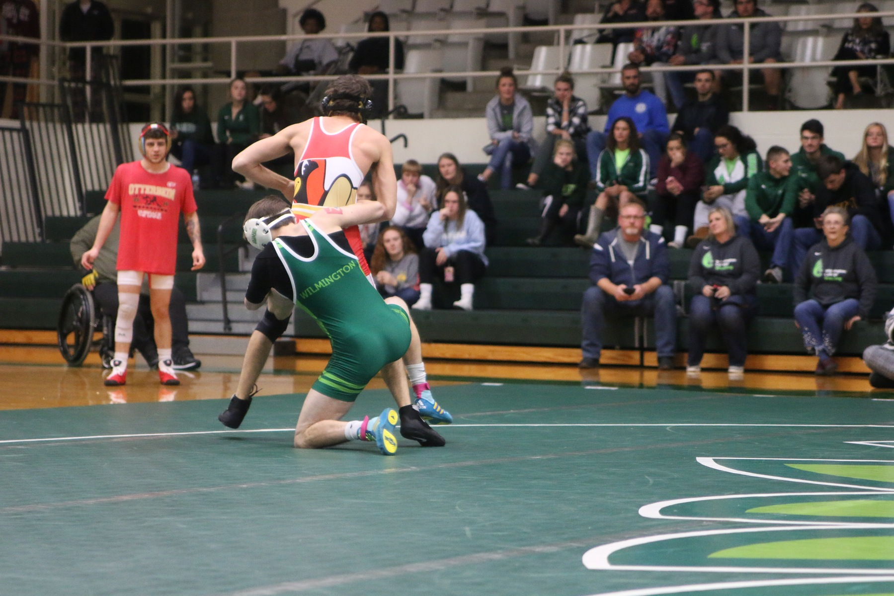 Wrestling Individuals Compete at OAC Duals