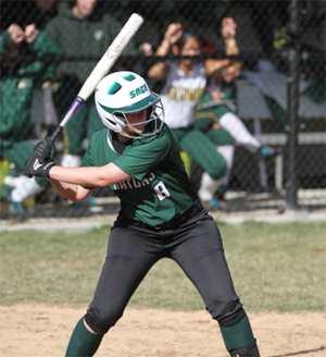 Faas breaks double and home run marks as Gators split at St. Joe's