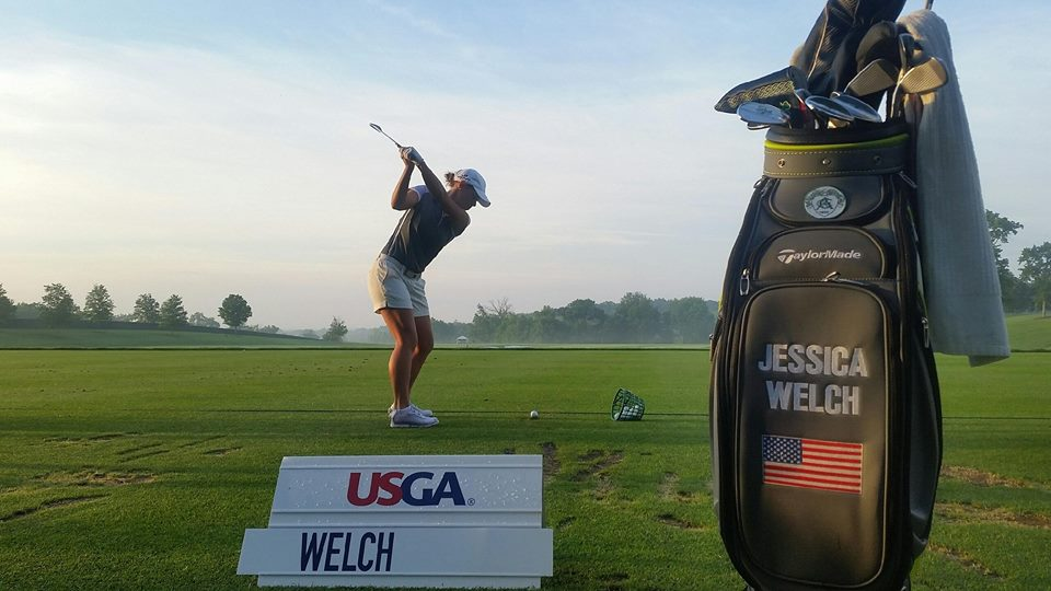 Welch Continues Blazing Trail at US Open