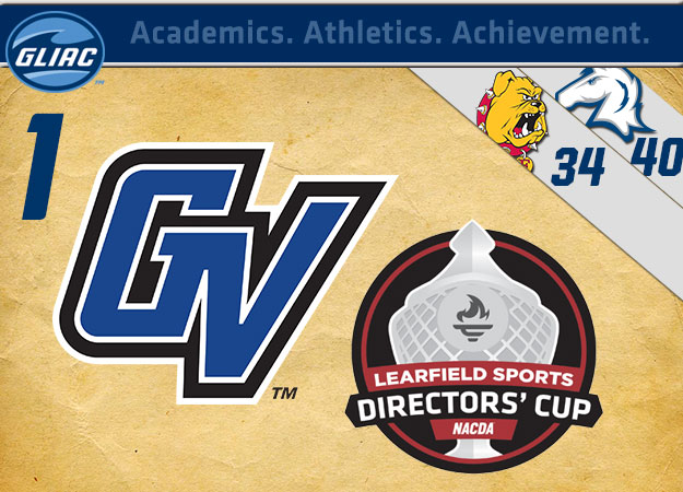 Grand Valley State Leads Fall Learfield Sports Directors' Cup Standings