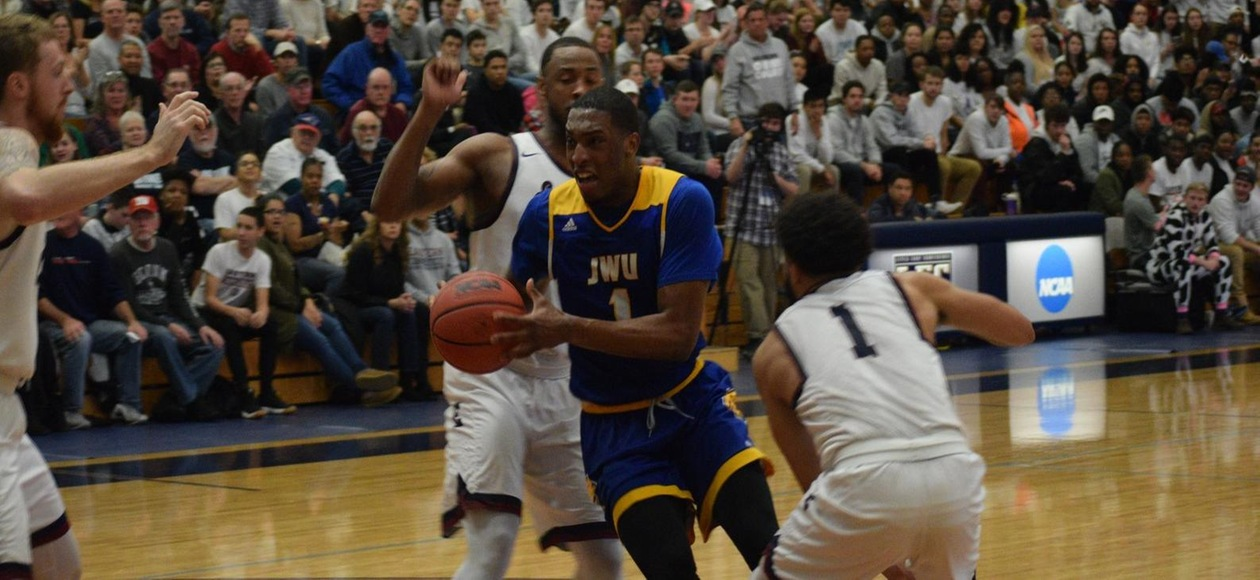 Men's Basketball Comes Up Short in NCAA Tournament 75-59 at ECSU