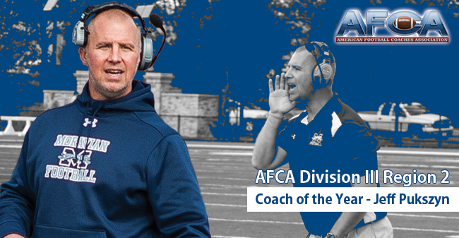 Pukszyn Selected as AFCA Division III Region 2 Coach of the Year