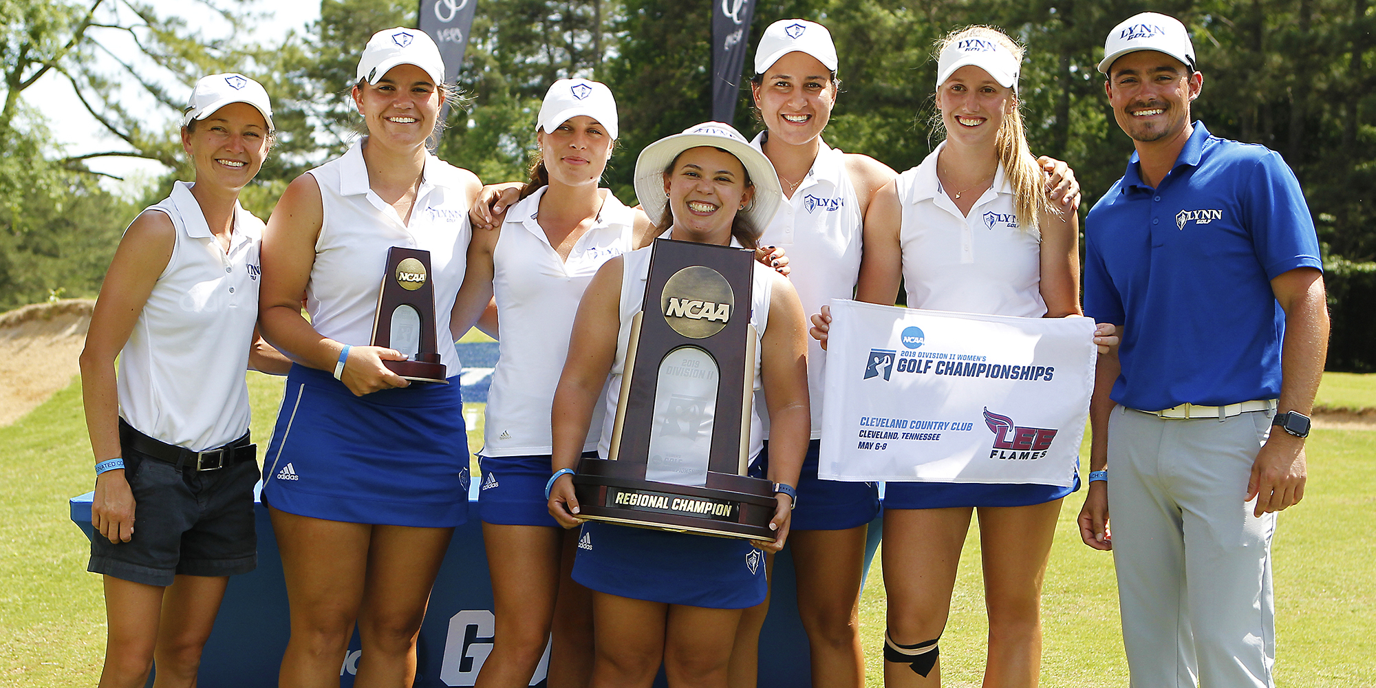 NCAA South Region Champions! Women's Golf & Kreuzer Take Top Honors
