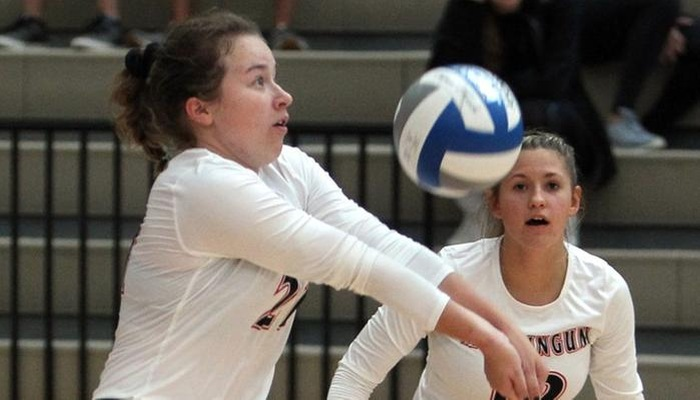 Muskingum Volleyball falls to Otterbein and 5th-ranked Thomas More