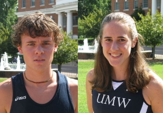 UMW's Anderson, Witek Named CAC Cross Country Runners of the Week