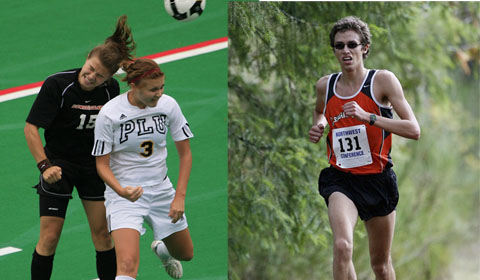 Havel and Dickman Named Pioneer Athletes of the Year