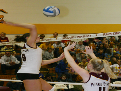 Ferris State was selected fourth in the 2009 GLIAC North Division Women's Volleyball Preseason Poll.