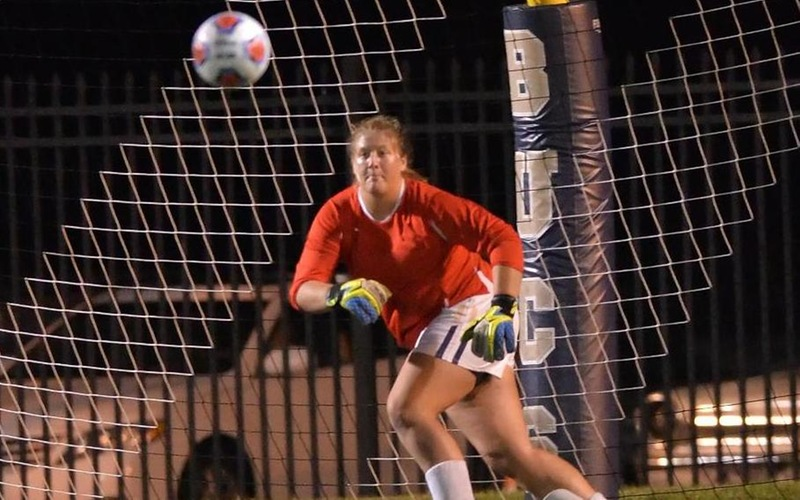 Coffey Makes Seven Saves As Women's Soccer Falls To Becker In Season Opener