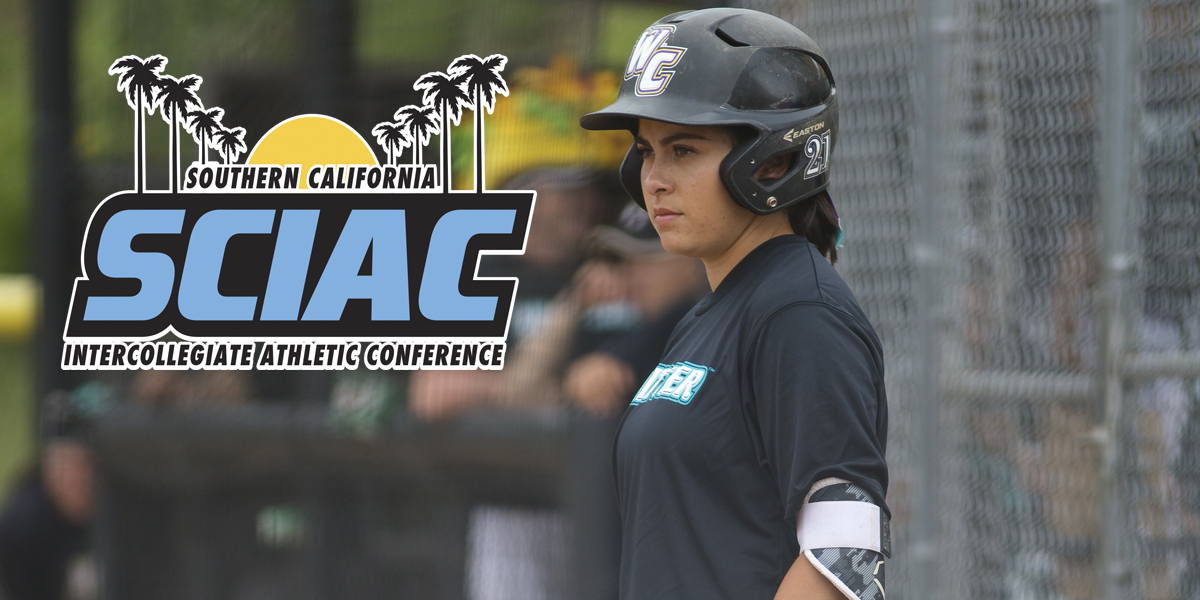 Alli Fonseca named SCIAC Athlete of the Week