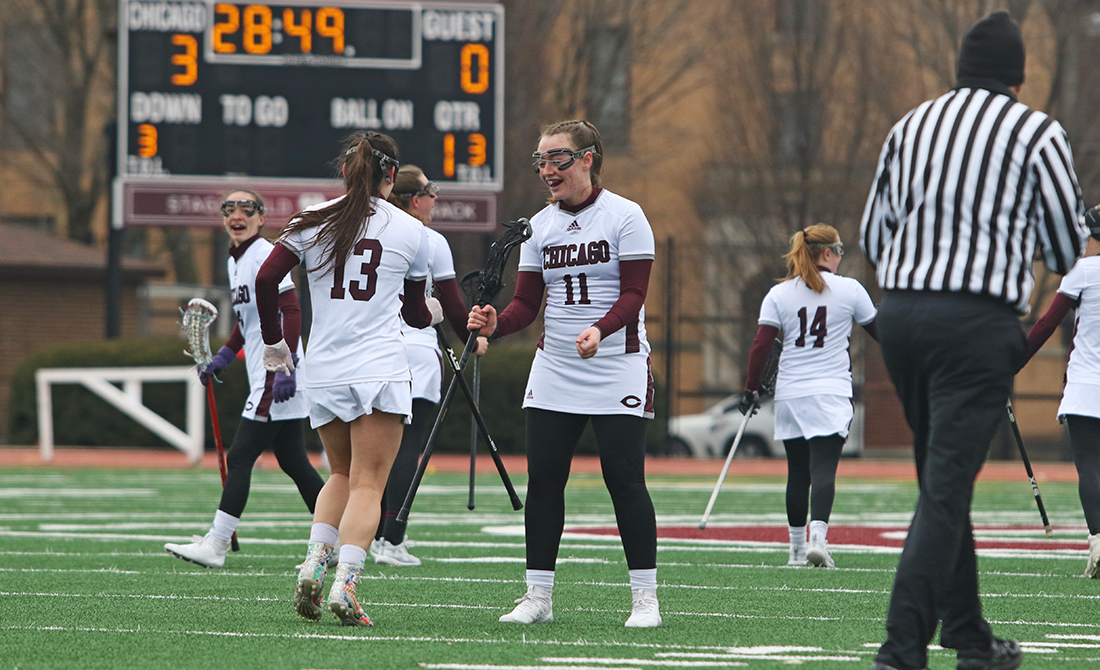 Pouba's Flurry Highlights UChicago Women's Lacrosse Win Over Kalamazoo