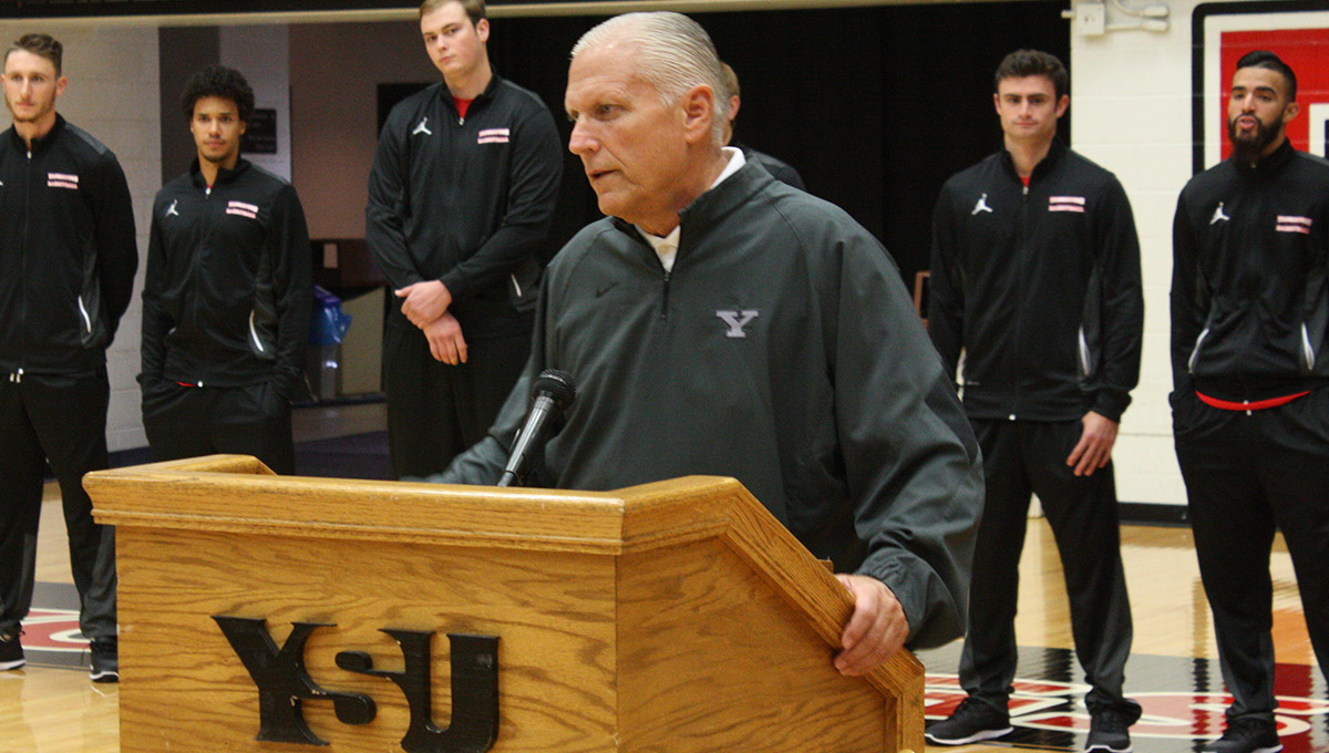 Head Coach Jerry Slocum (Photo by John Vogel)
