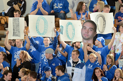 Three-pointer Propels Kelley into SJC 1,000-Point Club