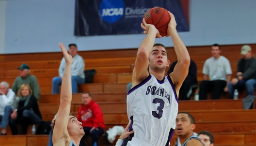 Sophomore guard Ross Danzig scored a career-high 29 points to lead 12th-ranked Scranton to a 74-73 victory in overtime over No. 21 Cabrini on Tuesday evening.