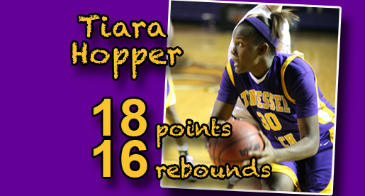 Hopper leads Tech to road win at Lipscomb, 2-0 start to season