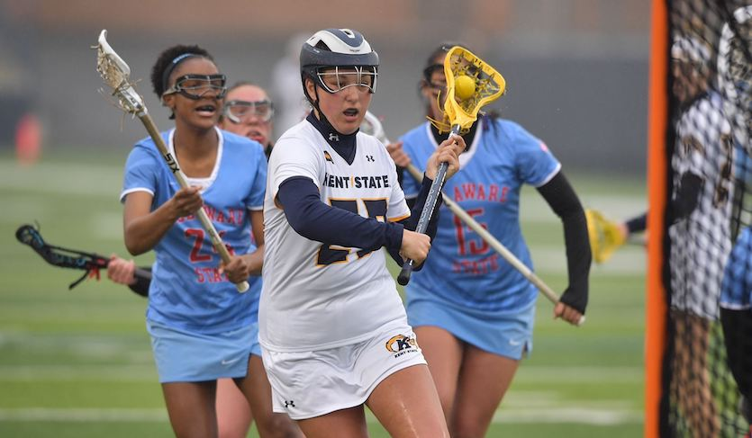 Kent State Earns First Win in Program History; Defeats Delaware State