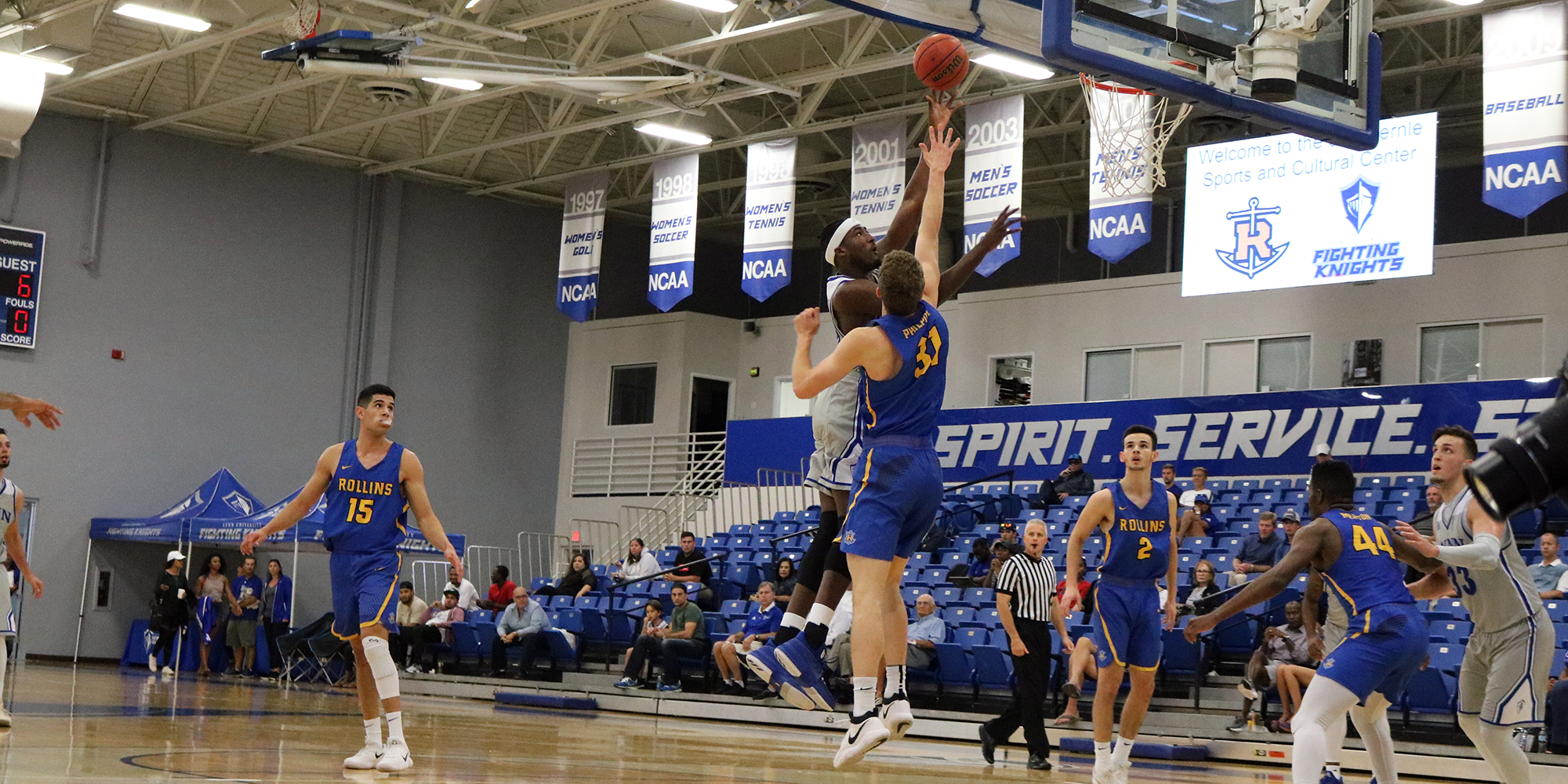 Men's Basketball Falls at Saint Leo